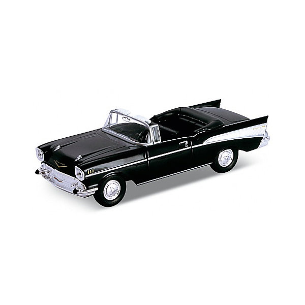 Welly Модель винтажной машины 1:34-39 Chevrolet Bel Air 1957, Welly машины welly модель винтажной машины 1 24 packard caribbean page 5