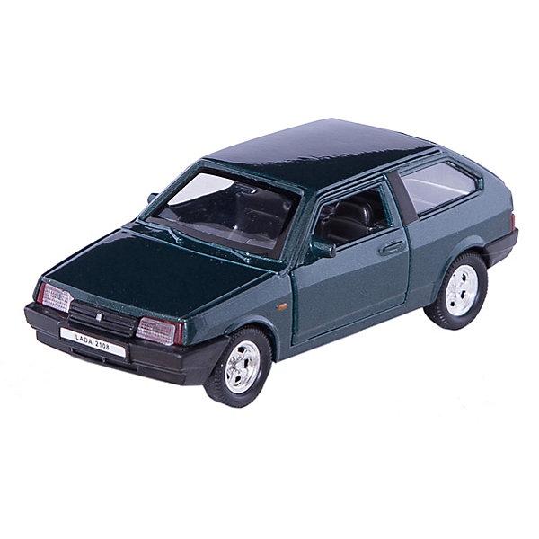 Welly Модель машины 1:34-39 LADA 2108, Welly автомобиль welly lada 110 rally 1 34 39