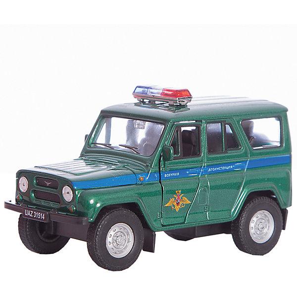 Welly Модель машины УАЗ 31514 ВОЕННАЯ АВТОИНСПЕКЦИЯ,