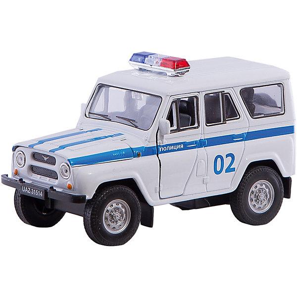 Welly Модель машины УАЗ 31514 ПОЛИЦИЯ, Welly