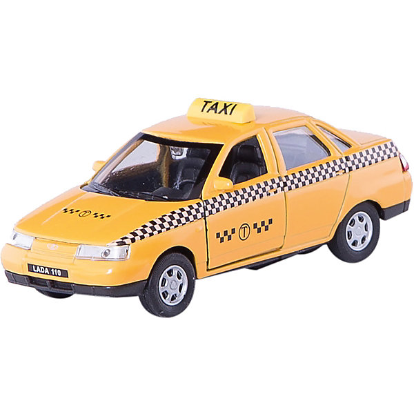 Модель машины 1:34-39 LADA 110 ТАКСИ, WellyМашинки<br>Коллекционная модель машины  масштаба 1:34-39 LADA 110 ТАКСИ. Функции: открываются передние двери, инерционный механизм.<br>Цвет кузова автомобиля представлен в ассортименте. Выбрать определенный цвет заранее не представляется возможным.<br>Ширина мм: 60; Глубина мм: 110; Высота мм: 150; Вес г: 161; Возраст от месяцев: 36; Возраст до месяцев: 192; Пол: Мужской; Возраст: Детский; SKU: 4966518;
