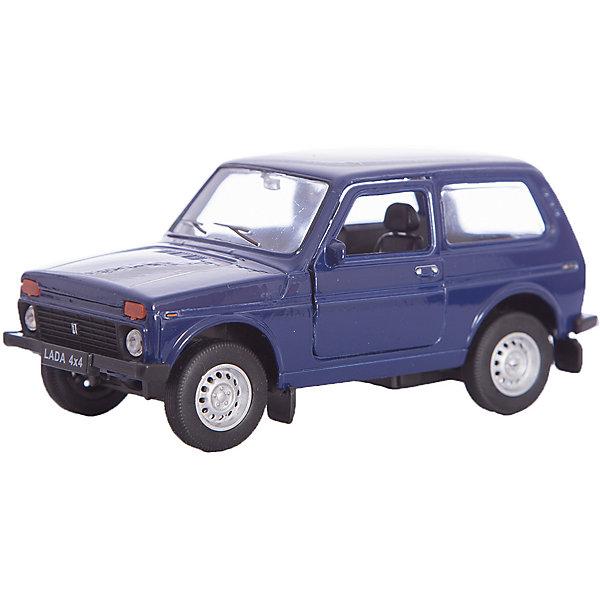 Модель машины 1:34-39 LADA 4x4, WellyМашинки<br>Коллекционная модель машины  масштаба 1:34-39 LADA 4x4. Функции: открываются передние двери, инерционный механизм.<br>Цвет кузова автомобиля представлен в ассортименте. Выбрать определенный цвет заранее не представляется возможным.<br>Ширина мм: 60; Глубина мм: 110; Высота мм: 150; Вес г: 173; Возраст от месяцев: 36; Возраст до месяцев: 192; Пол: Мужской; Возраст: Детский; SKU: 4966519;