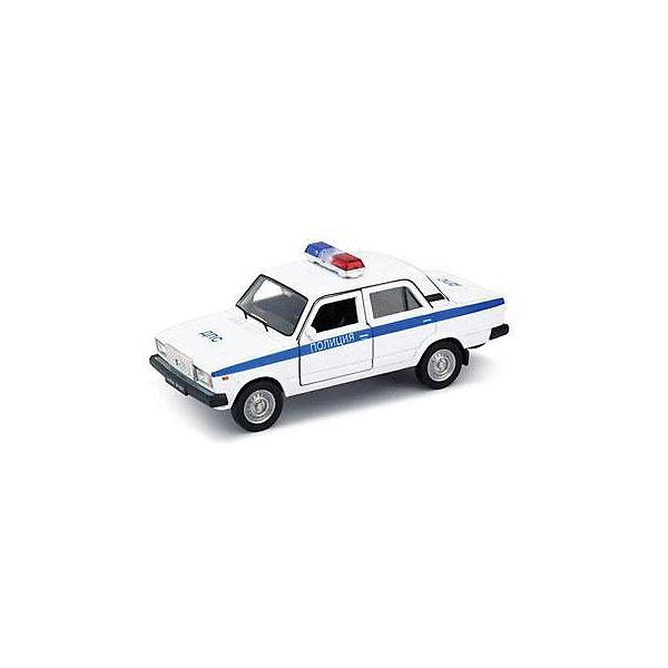 Купить Модель машины 1:34-39 LADA 2107 ПОЛИЦИЯ, Welly, Китай, Мужской