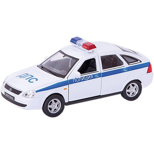 Купить Модель машины 1:34-39 LADA PRIORA ПОЛИЦИЯ, Welly, Китай, Мужской