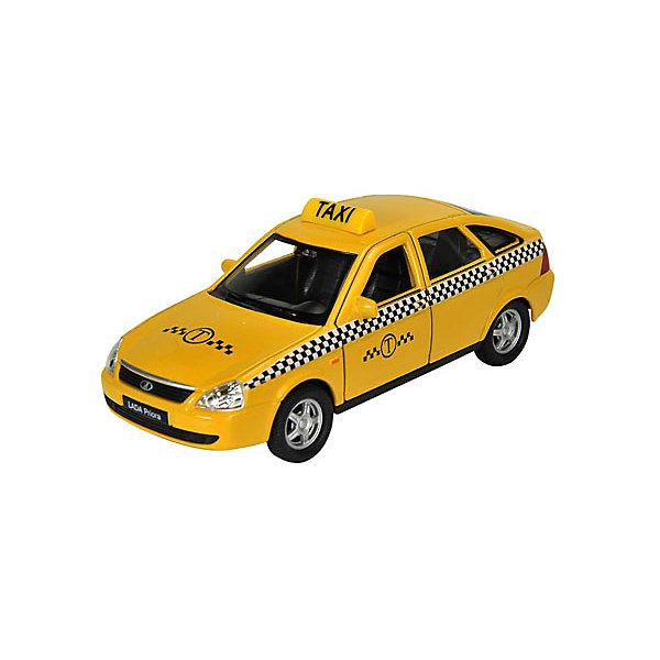 цена на Welly Модель машины 1:34-39 LADA PRIORA ТАКСИ, Welly