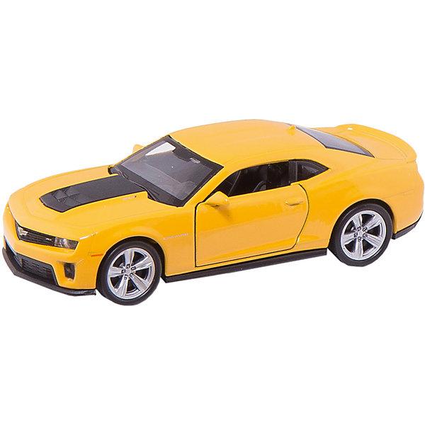 Модель машины 1:34-39 Chevrolet Camaro ZL1, WellyМашинки<br>Коллекционная машинка Welly представлена в виде модели масштабом 1:34-39, которая является точной копией автомобиля Chevrolet Camaro ZL1. Цвет кузова автомобиля представлен в ассортименте. Выбрать определенный цвет заранее не представляется возможным.<br>Ширина мм: 145; Глубина мм: 110; Высота мм: 60; Вес г: 142; Возраст от месяцев: 36; Возраст до месяцев: 192; Пол: Мужской; Возраст: Детский; SKU: 4966541;