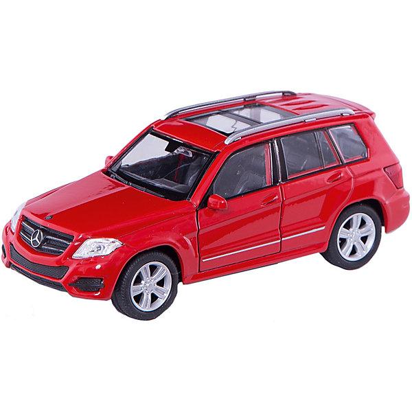 Welly Модель машины 1:34-39 Mercedes-Benz GLK, Welly игрушка welly mercedes benz glk 43684 page 1