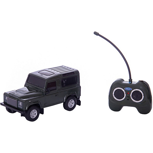 Welly Модель машины 1:24 Land Rover Defender, р/у,