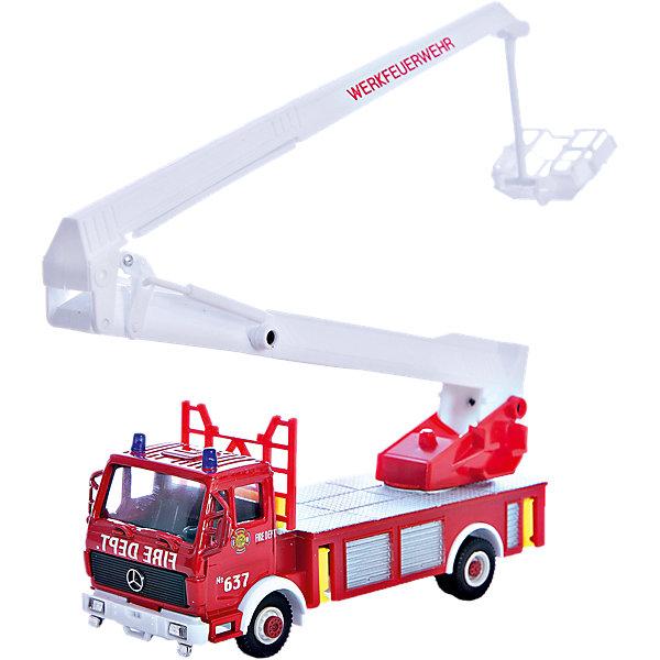 Модель машины Пожарная машина, WellyМашинки<br>Коллекционная модель машины от Welly Пожарная машина.<br>Ширина мм: 70; Глубина мм: 110; Высота мм: 230; Вес г: 227; Возраст от месяцев: 36; Возраст до месяцев: 192; Пол: Мужской; Возраст: Детский; SKU: 4966564;
