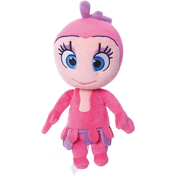 Just Play Мягкая игрушка Лили, 20 см, Катя и Мим-Мим cherry print surplice wrap top