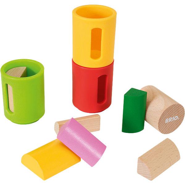 сортеры BRIO Развивающая игрушка Brio Формочки-сортеры, 10 деталей