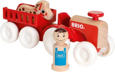 Фото - BRIO Игровой набор Brio Мой родной дом Фермерский трактор набор игровой brio супер делюкс город 106 деталей