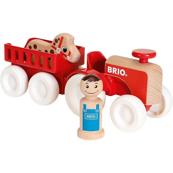 """BRIO Игровой набор Brio """"Мой родной дом """"Фермерский трактор"""