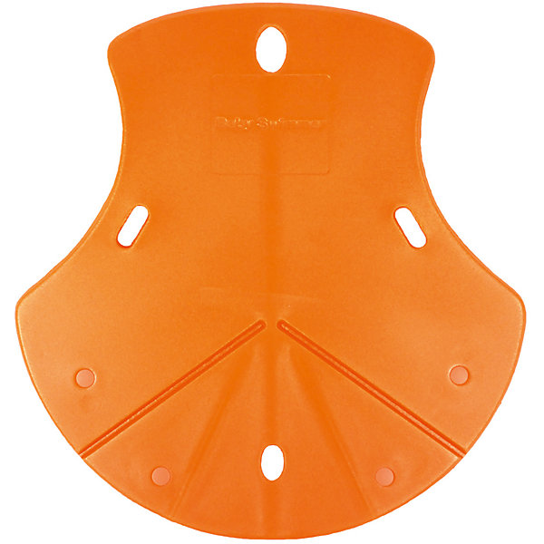 Baby Swimmer Коврик для ванной/раскладная ванночка в раковину, BabySwimmer, оранжевый детские ванночки bebe jou ванночка для купания 6256