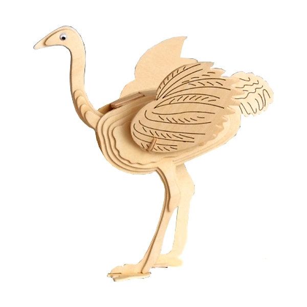 Фотография товара страус, Мир деревянных игрушек (4969028)