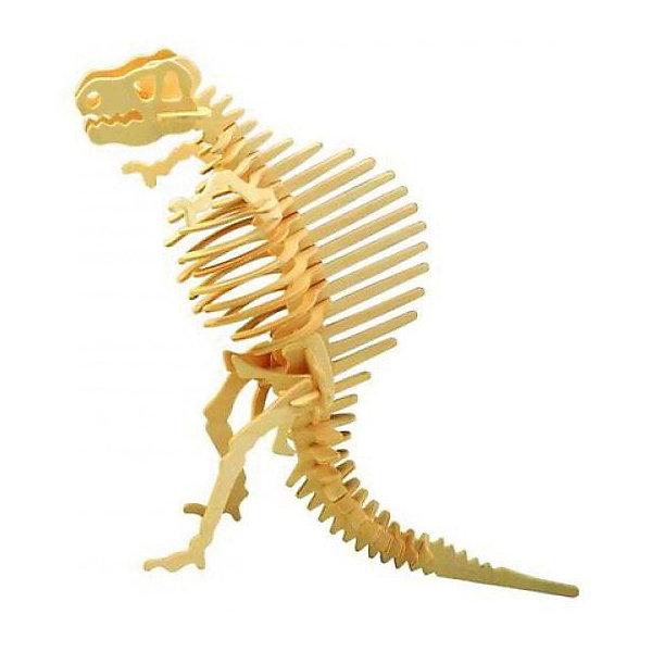 Спинозавр, Мир деревянных игрушекДеревянные модели<br>Бренд Мир деревянных игрушек дает ребенку возможность самому сделать красивую деревянную фигуру! Специально для любящих творчество и интересующихся вымершими животными были разработаны эти 3D-пазлы. Из них получаются красивые очень реалистичные фигуры, которые могут стать украшением комнаты.<br>Собирая их, ребенок будет учиться соотносить фигуры, развивать пространственное мышление, память и мелкую моторику. А раскрашивая готовое произведение, дети научатся подбирать цвета и будут развивать художественные навыки. Этот набор произведен из качественных и безопасных для детей материалов - дерево тщательно обработано.<br><br>Дополнительная информация:<br><br>материал: дерево;<br>цвет: бежевый;<br>элементы: пластины с деталями для сборки;<br>размер упаковки: 23 х 18 см.<br><br>3D-пазл Спинозавр от бренда Мир деревянных игрушек можно купить в нашем магазине.<br>Ширина мм: 225; Глубина мм: 30; Высота мм: 180; Вес г: 460; Возраст от месяцев: 36; Возраст до месяцев: 144; Пол: Унисекс; Возраст: Детский; SKU: 4969039;