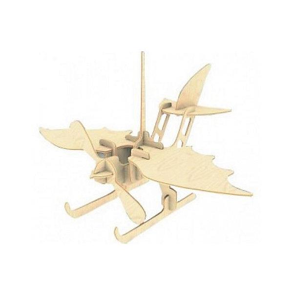 Гидроплан, Мир деревянных игрушекДеревянные модели<br>Отличный вариант подарка для любящего технику творческого ребенка - этот набор, из которого можно самому сделать красивую деревянную фигуру! Для этого нужно выдавить из пластины с деталями элементы для сборки и соединить их. Из наборов получаются красивые очень реалистичные игрушки, которые могут стать украшением комнаты.<br>Собирая их, ребенок будет развивать пространственное мышление, память и мелкую моторику. А раскрашивая готовое произведение, дети научатся подбирать цвета и будут развивать художественные навыки. Этот набор произведен из качественных и безопасных для детей материалов - дерево тщательно обработано.<br><br>Дополнительная информация:<br><br>материал: дерево;<br>цвет: бежевый;<br>элементы: пластины с деталями для сборки, схема сборки;<br>размер упаковки: 23 х 18 см.<br><br>3D-пазл Гидроплан от бренда Мир деревянных игрушек можно купить в нашем магазине.<br>Ширина мм: 225; Глубина мм: 30; Высота мм: 180; Вес г: 450; Возраст от месяцев: 36; Возраст до месяцев: 144; Пол: Унисекс; Возраст: Детский; SKU: 4969088;