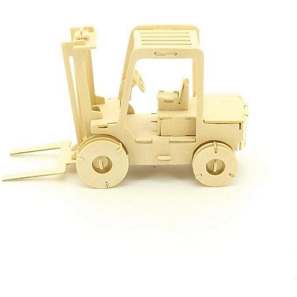 Автокар, Мир деревянных игрушекДеревянные модели<br>Отличный вариант подарка для любящего технику творческого ребенка - этот набор, из которого можно самому сделать красивую деревянную фигуру! Для этого нужно выдавить из пластины с деталями элементы для сборки и соединить их. Из наборов получаются красивые очень реалистичные игрушки, которые могут стать украшением комнаты.<br>Собирая их, ребенок будет развивать пространственное мышление, память и мелкую моторику. А раскрашивая готовое произведение, дети научатся подбирать цвета и будут развивать художественные навыки. Этот набор произведен из качественных и безопасных для детей материалов - дерево тщательно обработано.<br><br>Дополнительная информация:<br><br>материал: дерево;<br>цвет: бежевый;<br>элементы: пластины с деталями для сборки, схема сборки;<br>размер упаковки: 23 х 37 см.<br><br>3D-пазл Автокар от бренда Мир деревянных игрушек можно купить в нашем магазине.<br>Ширина мм: 350; Глубина мм: 50; Высота мм: 225; Вес г: 450; Возраст от месяцев: 36; Возраст до месяцев: 144; Пол: Мужской; Возраст: Детский; SKU: 4969109;