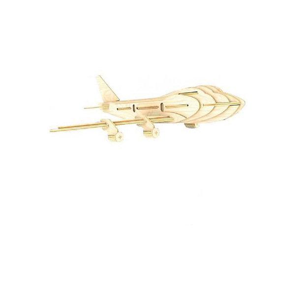 Боинг 747, Мир деревянных игрушекДеревянные модели<br>Отличный вариант подарка для любящего технику творческого ребенка - этот набор, из которого можно самому сделать красивую деревянную фигуру! Для этого нужно выдавить из пластины с деталями элементы для сборки и соединить их. Из наборов получаются красивые очень реалистичные игрушки, которые могут стать украшением комнаты.<br>Собирая их, ребенок будет развивать пространственное мышление, память и мелкую моторику. А раскрашивая готовое произведение, дети научатся подбирать цвета и будут развивать художественные навыки. Этот набор произведен из качественных и безопасных для детей материалов - дерево тщательно обработано.<br><br>Дополнительная информация:<br><br>материал: дерево;<br>цвет: бежевый;<br>элементы: пластины с деталями для сборки, схема сборки;<br>размер упаковки: 23 х 37 см.<br><br>3D-пазл Боинг 747 от бренда Мир деревянных игрушек можно купить в нашем магазине.<br>Ширина мм: 350; Глубина мм: 50; Высота мм: 225; Вес г: 450; Возраст от месяцев: 36; Возраст до месяцев: 144; Пол: Унисекс; Возраст: Детский; SKU: 4969126;