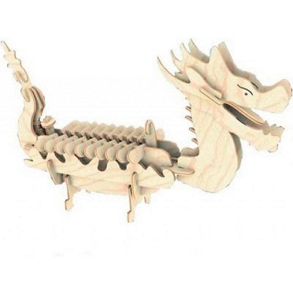 МДИ Лодка Дракона (мал.), Мир деревянных игрушек мир деревянных игрушек конструктор каталка полиция