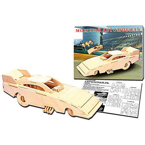 Забавный автомобиль, Мир деревянных игрушек МДИ, Китай (КНР)