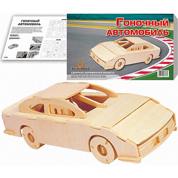 МДИ Гоночный автомобиль (серия П), Мир деревянных игрушек мир деревянных игрушек конструктор каталка полиция