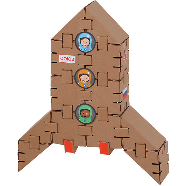 Yohocube Конструктор Ракета , Yohocube yohocube картонный конструктор ангелочки yohocube