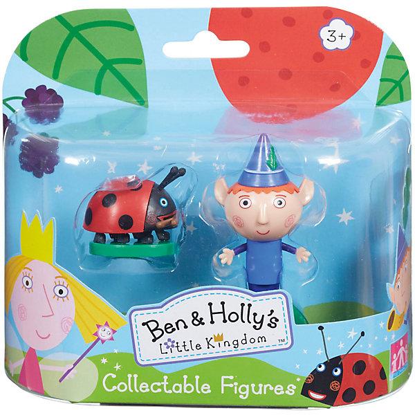 Игровой набор Бен и Гастон, Бен и ХоллиИгровые наборы с фигурками<br>Игровой набор Бен и Гастон приведет в восторг любителей мультика Маленькое королевство Бена и Холли. В наборе есть фигурки Гастона и Бена с подвижными деталями. Благодаря двигающимся рукам и ногам героев, с ними можно придумать множество игр, тем более, чтоб малышам нужно будет активнее задействовать пальчики и творческое мышление!<br>Набор сделан из высококачественного пластика, который безопасен для малышей. Набор яркий, очень симпатично смотрится. Он будет отличным подарком ребенку! Подобные игрушки отлично помогают развитию у детей воображения и моторики.<br><br>Дополнительная информация:<br><br>цвет: разноцветный;<br>материал: пластик;<br>комплектация: фигурки Гастона и Бена;<br>размер фигурки: 6 см;<br>размер упаковки: 14,5 х 15,5 х 5 см.<br><br>Игровой набор Бен и Гастон от бренда Бен и Холли можно приобрести в нашем интернет-магазине.<br>Ширина мм: 145; Глубина мм: 155; Высота мм: 50; Вес г: 108; Возраст от месяцев: 36; Возраст до месяцев: 2147483647; Пол: Унисекс; Возраст: Детский; SKU: 4970298;