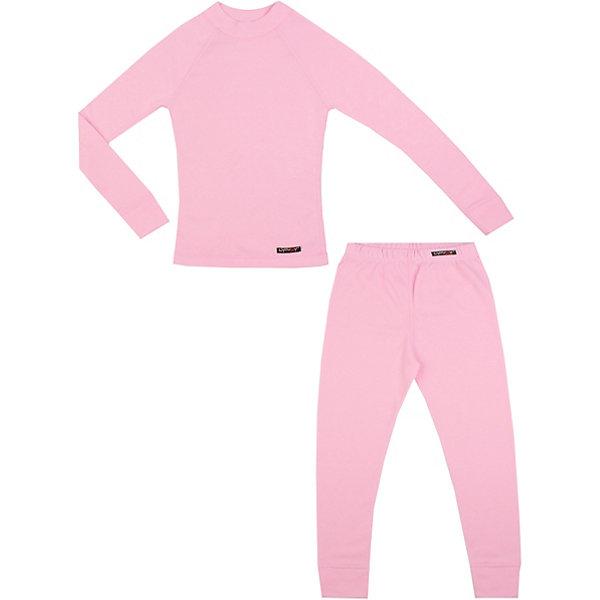 Комплект термобелья LynxyФлис и термобелье<br>Характеристики товара:<br><br>• цвет: розовый<br>• комплектация: лонгслив и рейтузы<br>• состав ткани: 95% полиэстер, 5% вискоза <br>• подкладка: нет<br>• сезон: зима<br>• температурный режим: от -30 до 0<br>• пояс: резинка<br>• длинные рукава<br>• страна бренда: Россия<br>• страна изготовитель: Россия<br><br>Розовое термобелье для ребенка выполнено в приятной расцветке. Качественный материал комплекта термобелья для детей позволяет коже дышать и впитывает лишнюю влагу. Детский комплект термобелья легко надевается благодаря эластичному материалу. <br><br>Комплект термобелья Lynxy (Линкси) можно купить в нашем интернет-магазине.<br>Ширина мм: 123; Глубина мм: 10; Высота мм: 149; Вес г: 209; Цвет: розовый; Возраст от месяцев: 144; Возраст до месяцев: 156; Пол: Женский; Возраст: Детский; Размер: 158,86,128,140,116,110,104,98,92,134,122; SKU: 4971558;