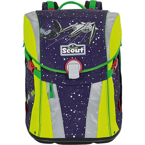 Scout Ранец Scout Sunny Космос с наполненеием scout scout ранец sunny exklusiv с наполнением 4 предмета ежик в саду
