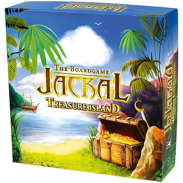 Настольная игра Шакал: остров сокровищ, МагелланНастольные игры ходилки<br>Настольная игра «Шакал: Остров сокровищ» — прекрасная настольная игра, относящаяся к жанру приключенческих игр. Содержит базовую версию и дополнение. Условия поединка таковы, что все зависит только от тактических способностей игроков. Игровое поле, состоящее из 117 квадратных клеток, представляет собой пиратский остров с множеством опасностей и горами золотых монет. С каждой новой партией игры фишки игрового поля располагаются в случайном порядке, делая каждую новую игру не похожей, на предыдущую. Цель игры: найти спрятанные золотые монеты и переместить их к себе на корабль. Ход игры: пираты сходят с корабля на берег острова и начинают поиски сокровищ. По суше участник может перемещаться только по одной клетке в любую сторону. При движении пиратом игрок открывает каждую закрытую клетку и выполняет определенное действие, в соответствии с рисунком на ней. Чтобы ударить вражеского пирата нужно оказаться на его клетке, и тогда поверженный соперник-пират снова начинает игру со своего корабля. Пират умирает в случае столкновения с кораблем врага или если попадет в лапы к людоеду. Умерших членов своей команды можно воскресить в крепости аборигенки. Победу в игре одержит тот, кто больше остальных заполнит золотом свой пиратский корабль.<br><br> Дополнительная информация:<br><br>- комплект:  117 квадратных клеток игрового поля, корабли, рамка из 8 частей для игрового поля, пираты, местные жители, 37 монет, 10 бутылок рома, сокровище с испанского галеона, правила игры<br>- возраст: от 16  лет <br>- пол: для девочек и мальчиков <br>- количество игроков: от 2 человек <br>- длительность игры: от 90 мин <br>- размер упаковки: 27*27*8 см <br>- вес: 900 г. <br>- страна: Россия<br><br>Настольная игра Шакал: остров сокровищ торговой марки Магеллан  можно купить в нашем интернет-магазине<br>Ширина мм: 263; Глубина мм: 263; Высота мм: 75; Вес г: 908; Возраст от месяцев: 36; Возраст до месяцев: 2147483647; Пол: У