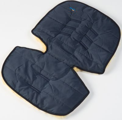 Меховой коврик для коляски и автокресла, Ramili, синий, артикул:4980609 - Автокресла
