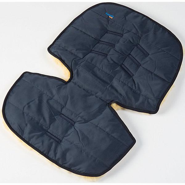 Ramili Меховой коврик для коляски и автокресла, Ramili, синий