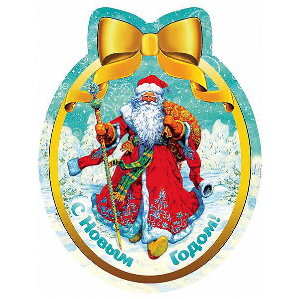Магнит Дед Мороз в красном кафтанеНовогодние сувениры<br>Яркий магнит с новогодней символикой - прекрасный вариант для праздничного сувенира. Магнит можно прикрепить на любую металлическую поверхность, он всегда будет радовать, напоминая о веселом и таком долгожданном для всех празднике! <br><br>Дополнительная информация:<br><br>- Материал: агломерированный феррит. <br>- Размер: 4,6х6 см.<br>- Яркий привлекательный дизайн. <br><br>Новогодний магнит Дед Мороз в красном кафтане можно купить в нашем магазине.<br>Ширина мм: 100; Глубина мм: 100; Высота мм: 10; Вес г: 260; Возраст от месяцев: 36; Возраст до месяцев: 2147483647; Пол: Унисекс; Возраст: Детский; SKU: 4981314;