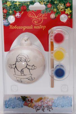 Набор для творчества Шарик с Дедом Морозом