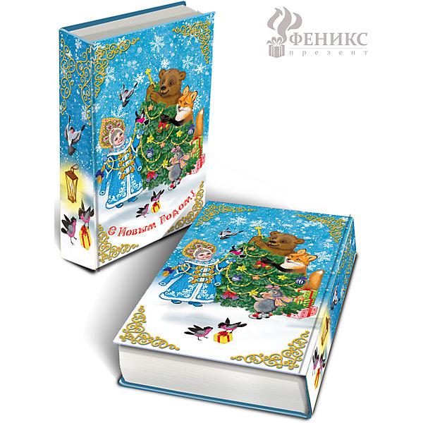 Magic Time Декоративная шкатулка Снегурочка и зверята 17*11*5 см вешалка сокол вш 3 ноче экко