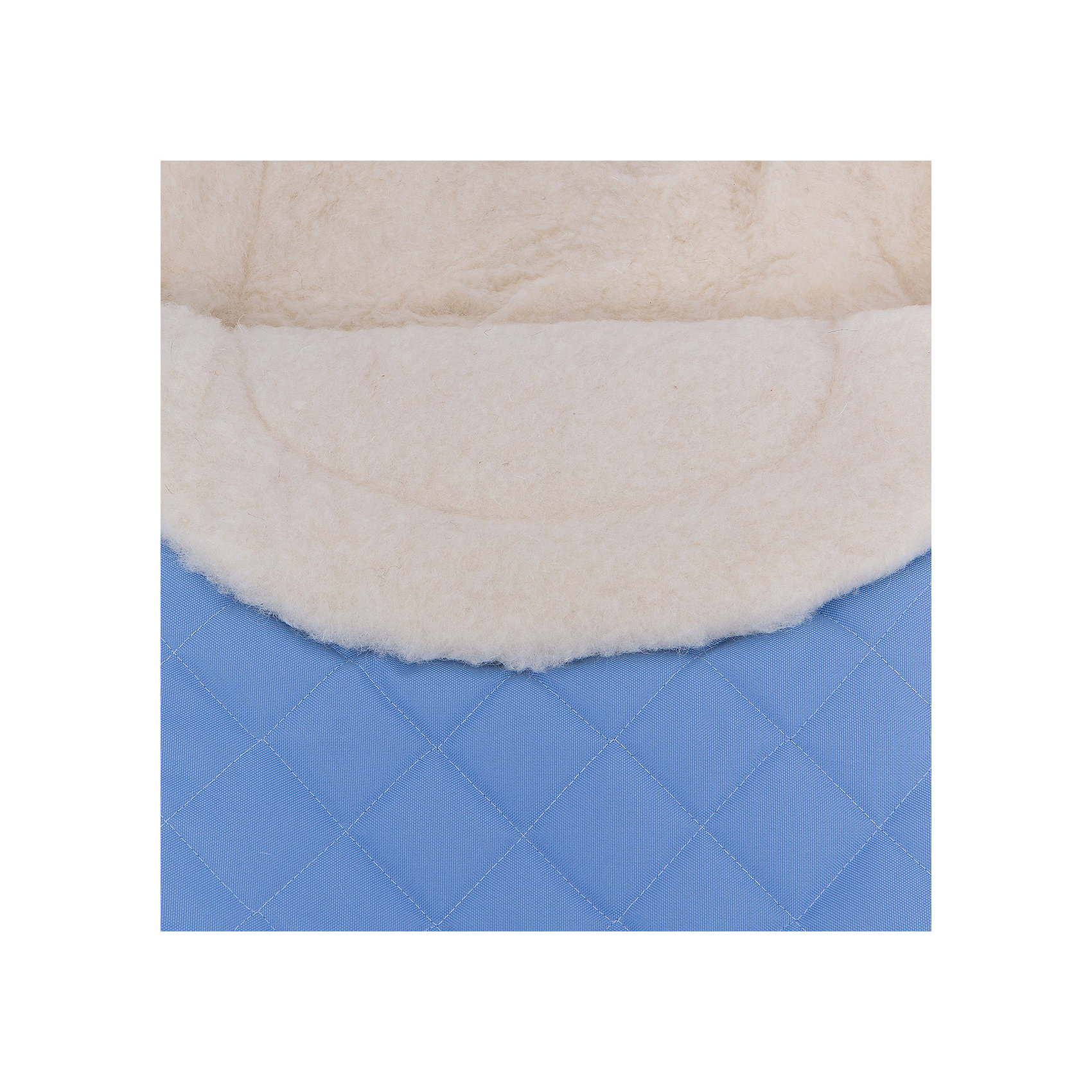 Конверт зимний №64 Exclusive, 95*50, шерсть, Womar, голубой