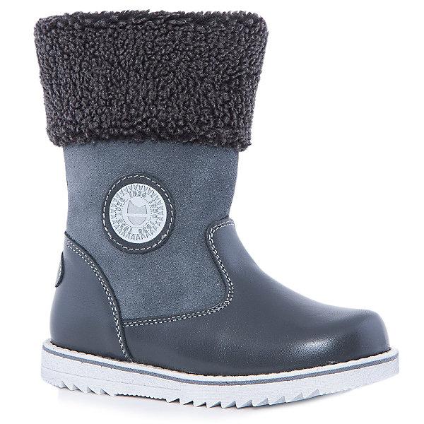 Сапоги для мальчика КотофейСапоги<br>Котофей – качественная и стильная детская обувь по доступным ценам. С каждым днем популярность бренда растет.  Сапожки – универсальная обувь для холодов, как для мальчиков, так и для девочек. Новая модель – сочетание проверенной классической формы сапог и модной манжеты из овчины в районе голени. Кожа и замша вместе создают стильный образ сапог. Натуральные материалы отвечают всем требованиям по безопасности.<br><br>Дополнительная информация:<br><br>цвет: серый;<br>вид крепления: на клею;<br>застежка: молния;<br>температурный режим: от -15 °С до +5° С.<br><br>Состав:<br>материал верха – кожа;<br>материал подклада – натуральная овчина;<br>подошва – ТЭП.<br><br>Зимние сапожки из натуральной кожи для мальчика дошкольного возраста от фирмы Котофей можно купить в нашем магазине.<br>Ширина мм: 257; Глубина мм: 180; Высота мм: 130; Вес г: 420; Цвет: серый; Возраст от месяцев: 36; Возраст до месяцев: 48; Пол: Мужской; Возраст: Детский; Размер: 27,29,31,30,28; SKU: 4982196;