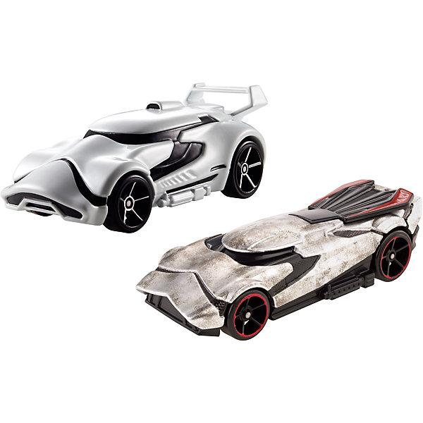 Mattel Набор машинок Hot Wheels Star Wars Штурмовик и Капитан Фазма набор машинок hot wheels 54886 масштаб 1 64 10шт