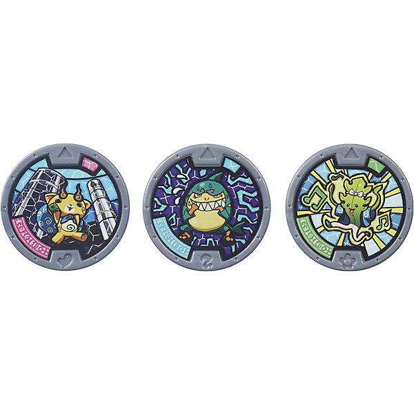 Медали в закрытой упаковке, Екай вотчИгрушки<br>Медали в закрытой упаковке, Екай вотч придутся по душе всем поклонникам мультсериала «Часы Призрака».<br>В каждом мешочке по три медали. Каждая медаль это отдельный персонаж  Екай. Помести медаль  Екай в часы  Екай вотч и вообрази, что призываешь безумных персонажей Йо-Каи из мультипликационного сериала. <br>Медаль можно отсканировать смартфоном и персонаж Екай появится в приложении Yo-kai Watch Land.<br><br>Дополнительная иформация:<br>- В комплекте: 3 медали в закрытой упаковке.<br>- Материал: пластмасса.<br><br>Медали в закрытой упаковке, Екай вотч можно купить в нашем интернет-магазине.<br>Ширина мм: 13; Глубина мм: 102; Высота мм: 127; Вес г: 18; Возраст от месяцев: 48; Возраст до месяцев: 120; Пол: Мужской; Возраст: Детский; SKU: 4984144;