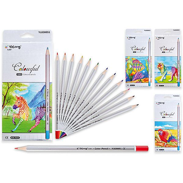 Цветные карандаши, 12 цветовПоследняя цена<br>Набор цветных карандашей – классический пункт в списке школьных покупок. Качественные карандаши прослужат ребенку не один год даже при активном использовании. Важно подобрать набор с яркими цветами, мягким, но прочным стержнем и грифелем с легкой растушевкой. Данная модель набора цветных карандашей – отличный выбор для обновки школьного пенала. Карандаши имеют шестигранный серебряный корпус. Упаковка выполнена с использованием объемного рисунка и выборочной лакировки. Все материалы, использованные при изготовлении, отвечают международным требованиям по качеству и безопасности.<br><br>Дополнительная информация: <br><br>количество цветов: 12 шт;<br>упаковка: металлическая, картонный дисплей.<br><br>Набор цветных карандашей можно приобрести в нашем магазине.<br>Ширина мм: 100; Глубина мм: 100; Высота мм: 10; Вес г: 50; Возраст от месяцев: 36; Возраст до месяцев: 120; Пол: Унисекс; Возраст: Детский; SKU: 4993556;