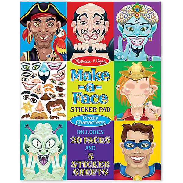 Книжка с многоразовыми наклейками Лица - Безумные героиКнижки с наклейками<br>Думаете, как порадовать ребенка? Такой набор - это отличный вариант подарка ребенку, который одновременно и развлечет малыша, и позволит ему развивать важные навыки. Это способствует развитию у малышей мелкой моторики, цветовосприятия, художественного вкуса, внимания и воображения. <br>Набор состоит из листов с заготовками, из которых можно создать портрет помощью наклеек. Это очень увлекательно! Набор отличается простотой использования и отличным качеством исполнения. <br><br>Дополнительная информация:<br><br>комплектация: пять листов с 160 наклейками, двадцать заготовок;<br>материал: бумага;<br>размер упаковки: 360 х 280 х 10 мм.<br><br>Набор стикеров Лица - Безумные герои от бренда Melissa&amp;Doug можно купить в нашем магазине.<br>Ширина мм: 280; Глубина мм: 10; Высота мм: 360; Вес г: 408; Возраст от месяцев: 48; Возраст до месяцев: 96; Пол: Унисекс; Возраст: Детский; SKU: 4993666;
