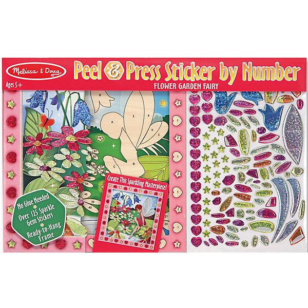 Купить Мозаика Цветочный сад , Melissa & Doug, Китай, Унисекс