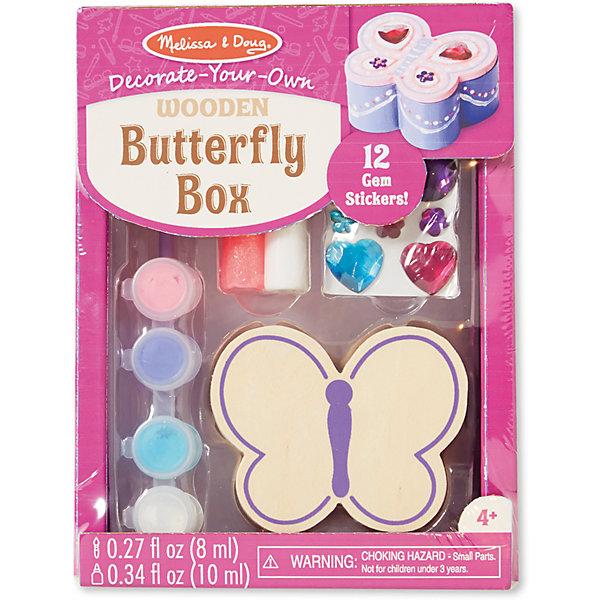 Melissa & Doug Набор создай свою шкатулку Бабочка