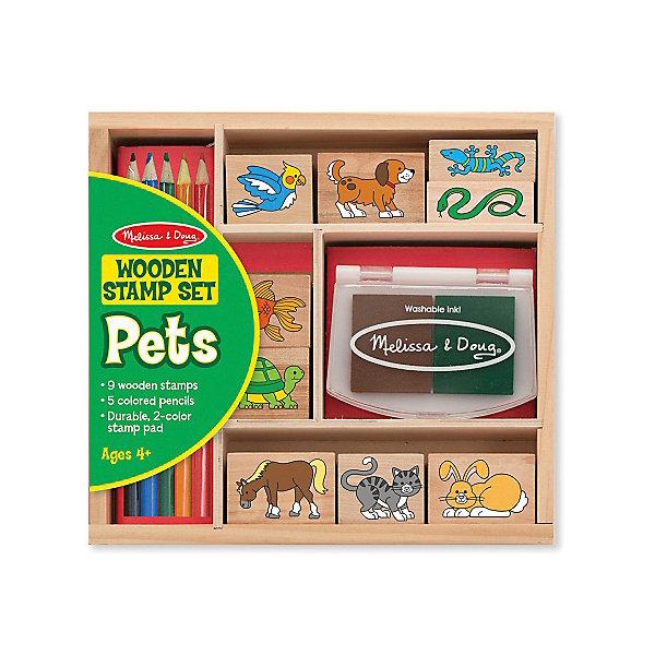 """Фотография товара набор печатей """"Животные"""" (4993707)"""