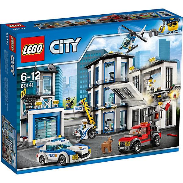 LEGO LEGO City 60141: Полицейский участок lego lego city 60129 лего сити полицейский патрульный катер