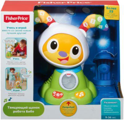 Щенок Робота Бибо, Fisher Price, артикул:5004509 - Интерактивные игрушки