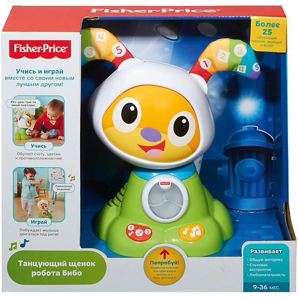 Интерактивная игрушка Fisher-Price Щенок робота Бибо от Mattel