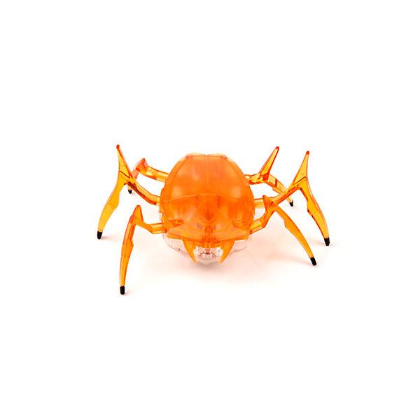 Микро-робот Жук Скарабей, оранжевый, HexbugИнтерактивные животные<br>Наноробот Hexbug Жук Скарабей.<br><br>Характеристики электронной игрушки Hexbug:<br><br>• строение тела: крупное овальное тело, выпуклое сверху и снизу;<br>• количество лап: 3 пары;<br>• специальная конструкция лапок для достижение максимальной скорости;<br>• передвигается только на своих лапках;<br>• супербыстрый наноробот, присутствует агрессивность;<br>• 12 передач и мощнейший моторчик – 1220 раз в минуту жук Скарабей передвигает лапками;<br>• специальный привод, случайность траектории движения;<br>• при встрече с препятствием: мелкий предмет отодвигает лапками, от большого предмета отпрыгивает в поисках новой траектории движения;<br>• при падении на спину жук Hexbug Nano переворачивается на лапки;<br>• размер скарабея: 8,2х4,1х5,7 см;<br>• вес наноробота: 28,5 г.<br><br>Современные и технологичные электронные игрушки Hexbug Nano – это скоростные жуки Скарабеи, быстрые, шустрые, умные. Бегают по случайно выбранной траектории, отталкиваются и переворачиваются после падения. Настоящий прорыв в области подвижных микро-роботов!<br><br>Микро-робот Жук Скарабей, оранжевый, Hexbug можно купить в нашем интернет-магазине.<br>Ширина мм: 6; Глубина мм: 13; Высота мм: 11; Вес г: 47; Возраст от месяцев: 36; Возраст до месяцев: 2147483647; Пол: Унисекс; Возраст: Детский; SKU: 5007082;