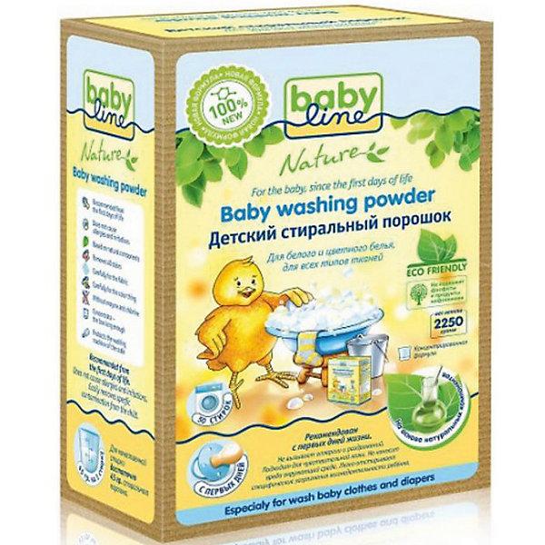 Babyline Детский стиральный порошок концентрат 2,25 кг., BABYLINE стиральный порошок без фосфатов концентрат feedback 4 5 кг